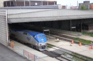 The train shed is the last part of the Milwaukee Intermodal Station that needs to be rebuilt, but due to the loss of Wisconsin\'s HSR funds the project has been delayed for some time now.