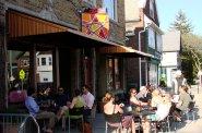 Cafe seating at Art*Bar.