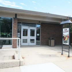 East Library Entrance