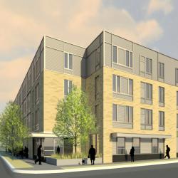 Rendering of Ingram Place Apartments