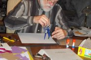 John Kaczmarowski doing tactiles.