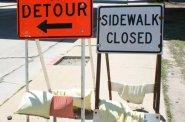 Pedestrian Detour