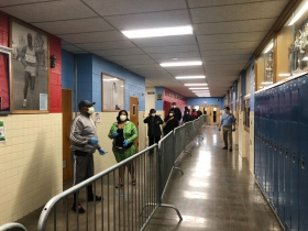 Marshall High School Polling Site