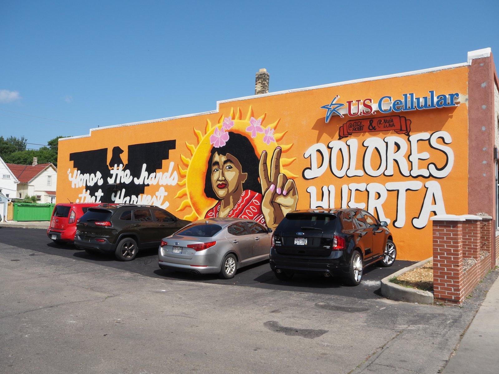 Dolores Huerta Mural