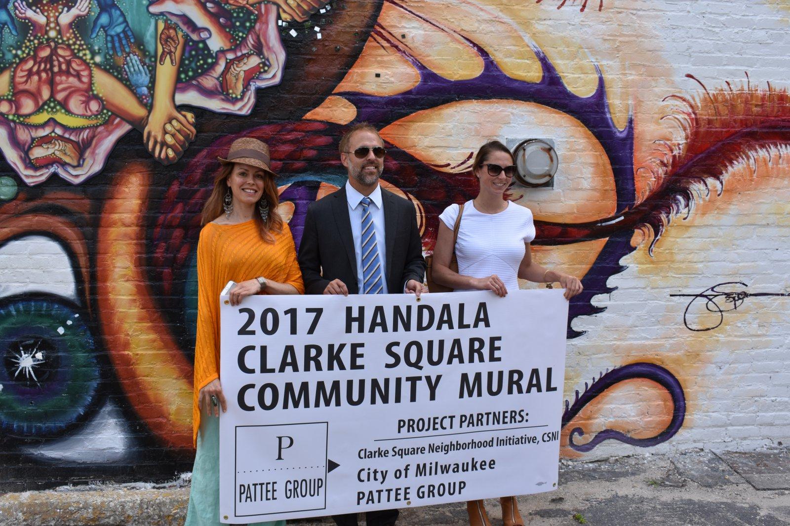 National Avenue Mural Celebrated
