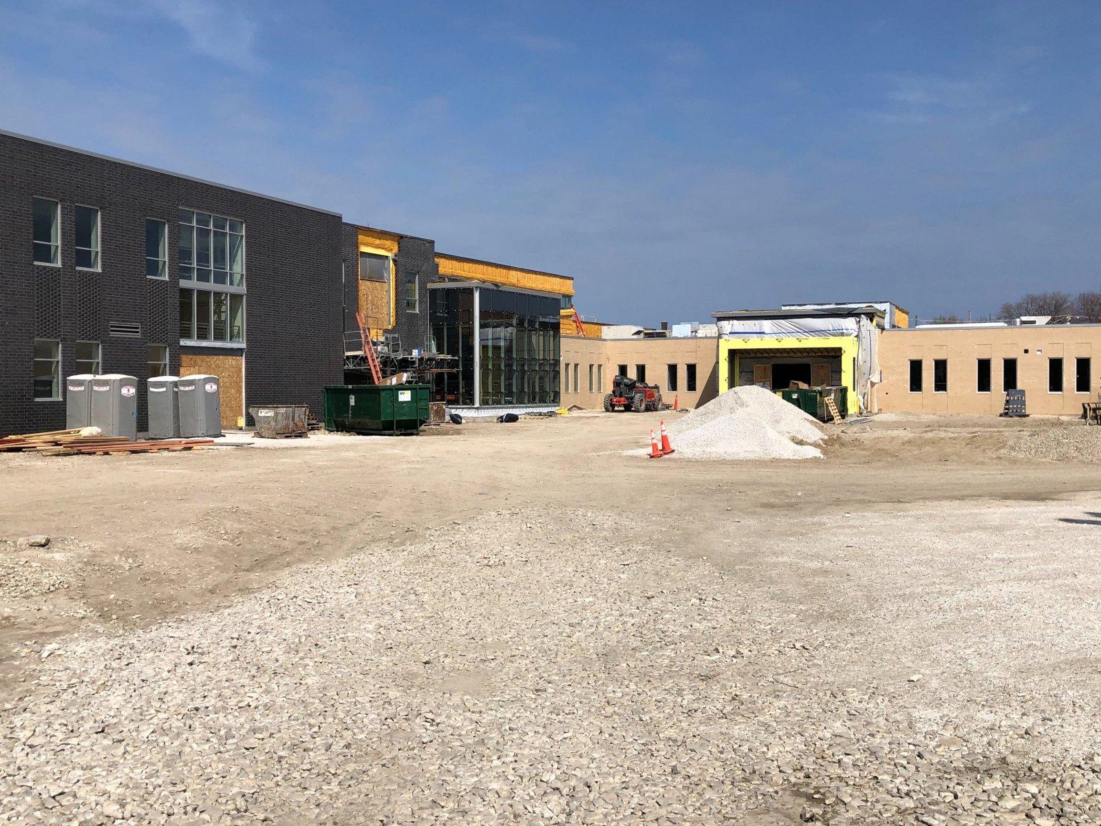 Cristo Rey High School Construction