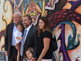 National Avenue Mural Celebrated