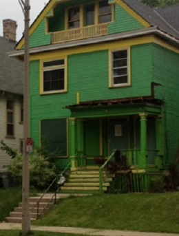 Green Bay Packer House, 2807 W. State St.