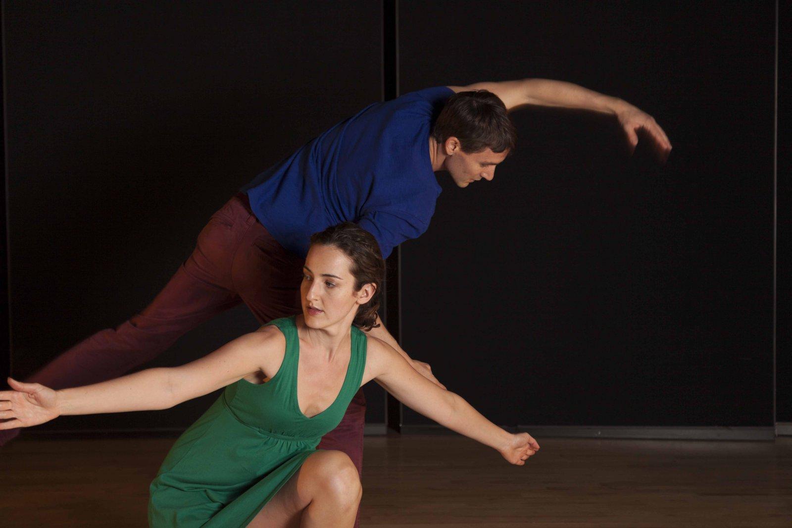 Monica Rodero and Daniel Schuchart. Photo by James Barsalou.