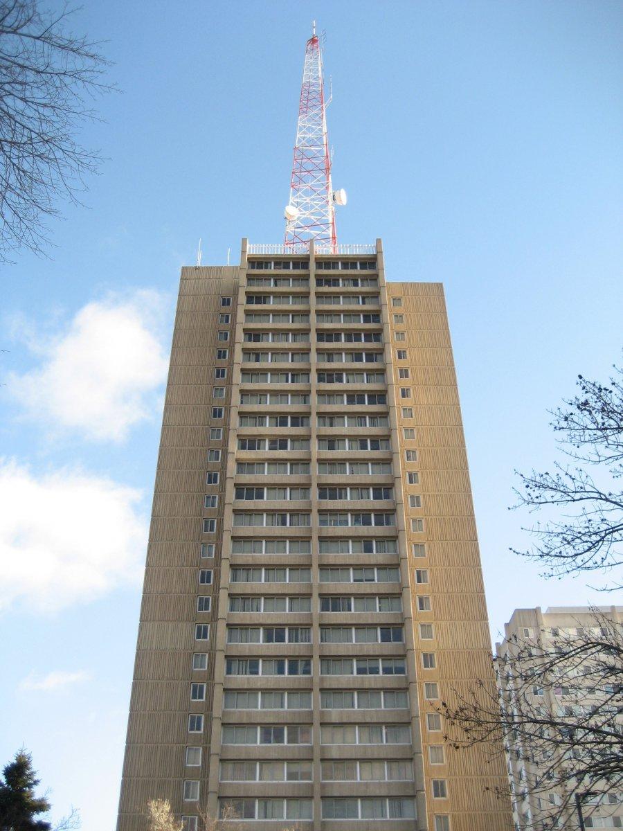UWM Sandburg Residence Halls.