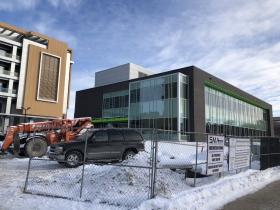 Lubar Center for Entrepreneurship Construction