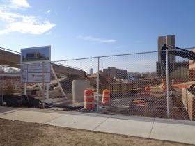 Kenwood Interdisciplinary Research Complex under construction.