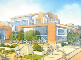 Kenwood Interdisciplinary Research Complex Rendering.