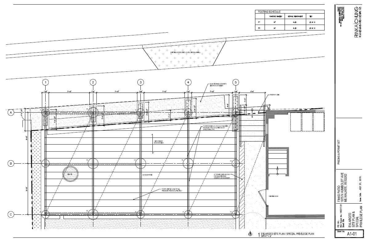 Finks Patio Design