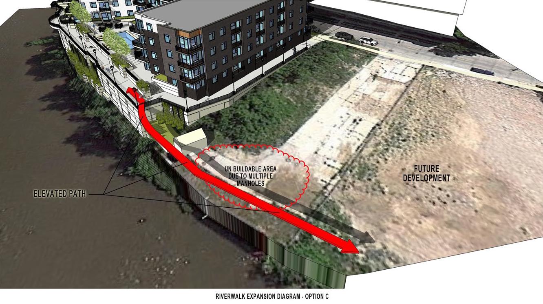 1887 Water St. Riverwalk Design Option C