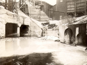 Combined sewer at Pulaski, 1931