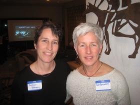 Alexa Bradley and Ann Brummitt