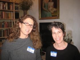 Anne Basting and Alexa Bradley