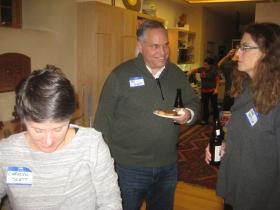 Carolyn Scott, Jay Scott, and Anne Basting