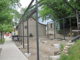 Finks patio construction