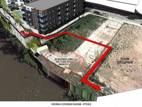 1887 Water St. Riverwalk Design Option B