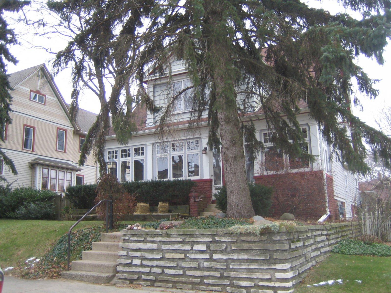 John Gurda\'s house in the Fernwood neighborhood.