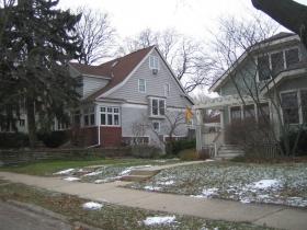 John Gurda's house on the left.