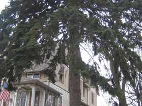 John Gurda's house.