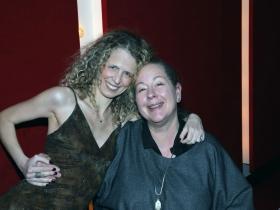 Eugenia Arsenis, Stage Director & Choreographer and Lisa Schlenker, Scenic Designer.