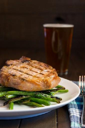 Big Daddy\'s Brew and Que - Bone-In Pork Chop