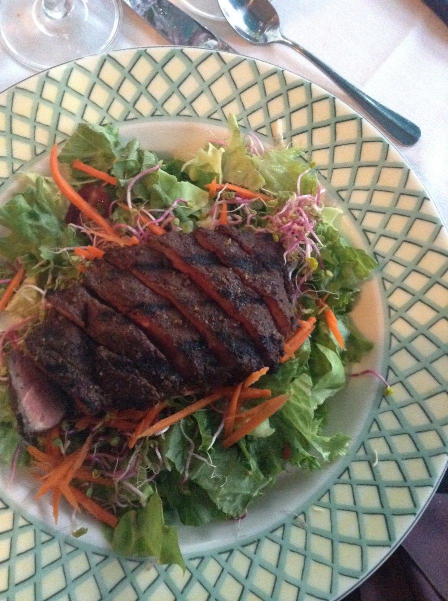 Five-Spice Steak Salad