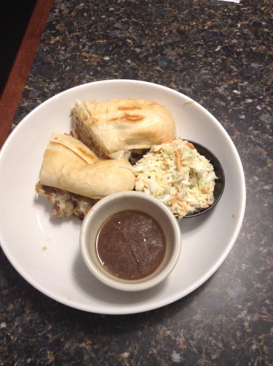 On the Menu: French Dip with French Onion au jus