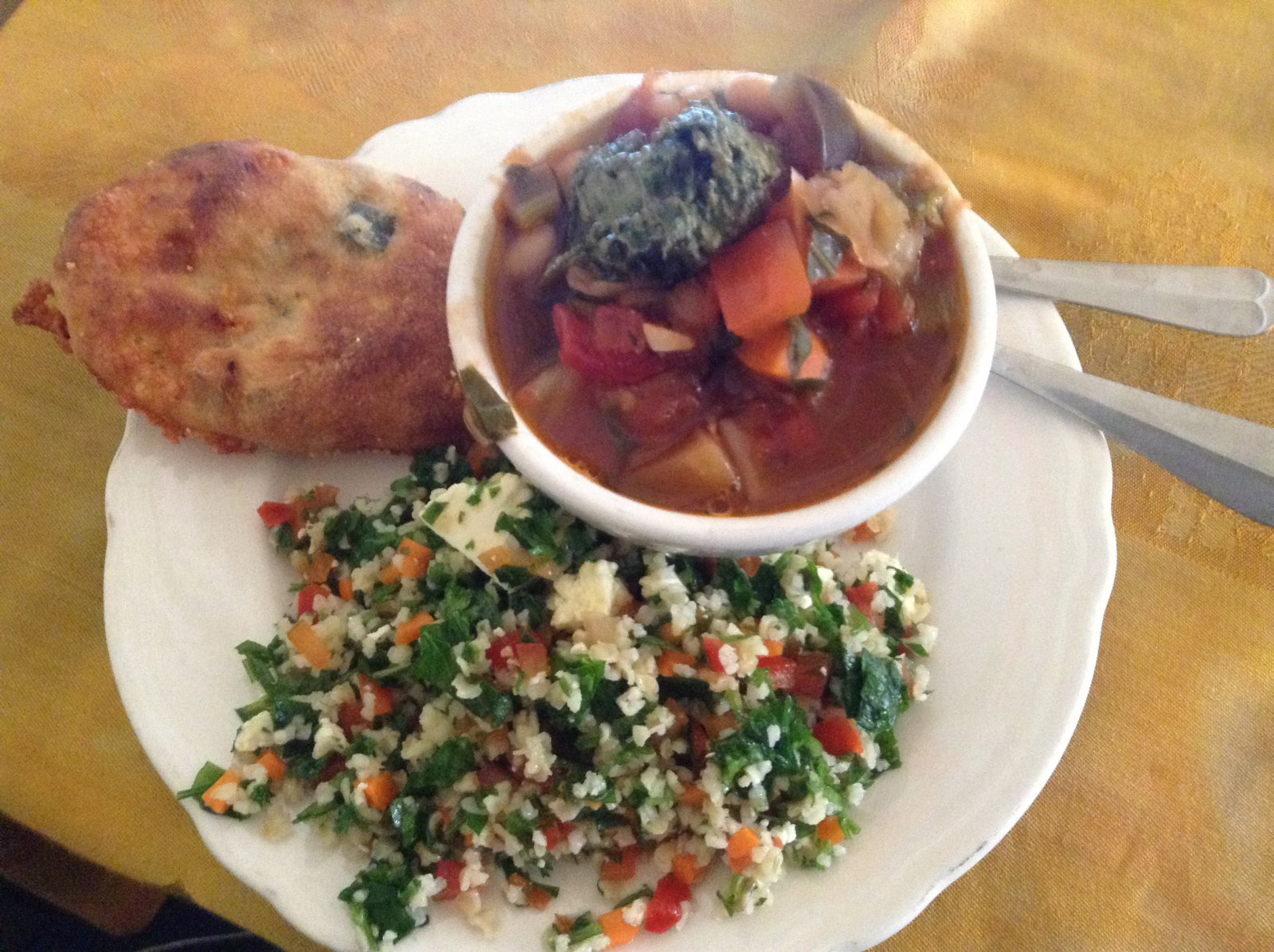Amaranth Bakery and Café: Veggie Soup