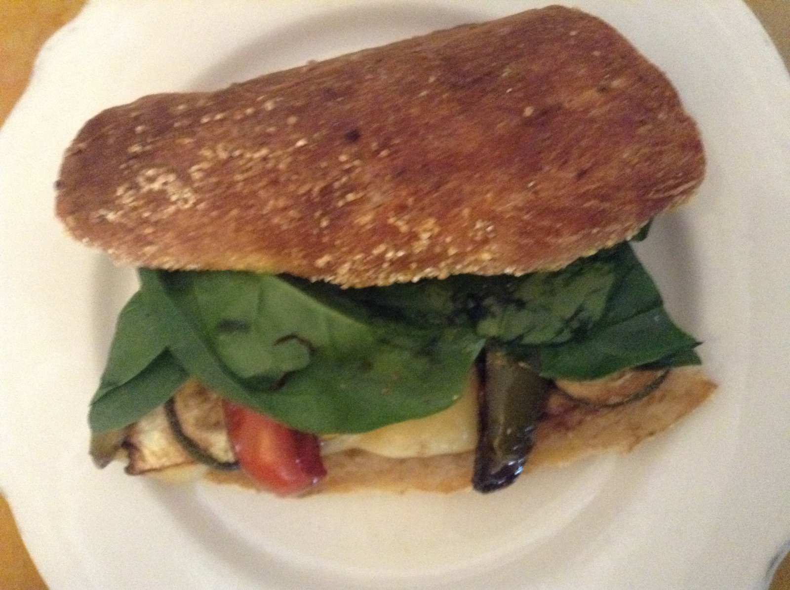 Amaranth Bakery and Café: Veggie Sandwich