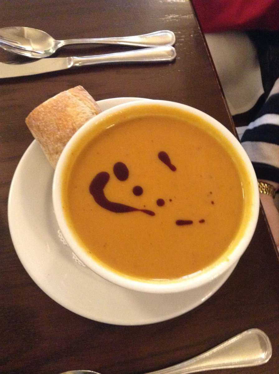 Le Reve: Pumpkin Soupe