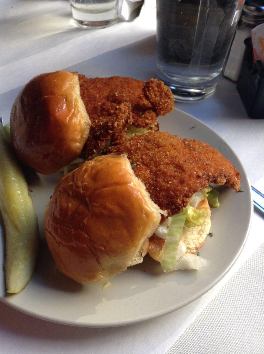 Crunchy Chicken Sliders