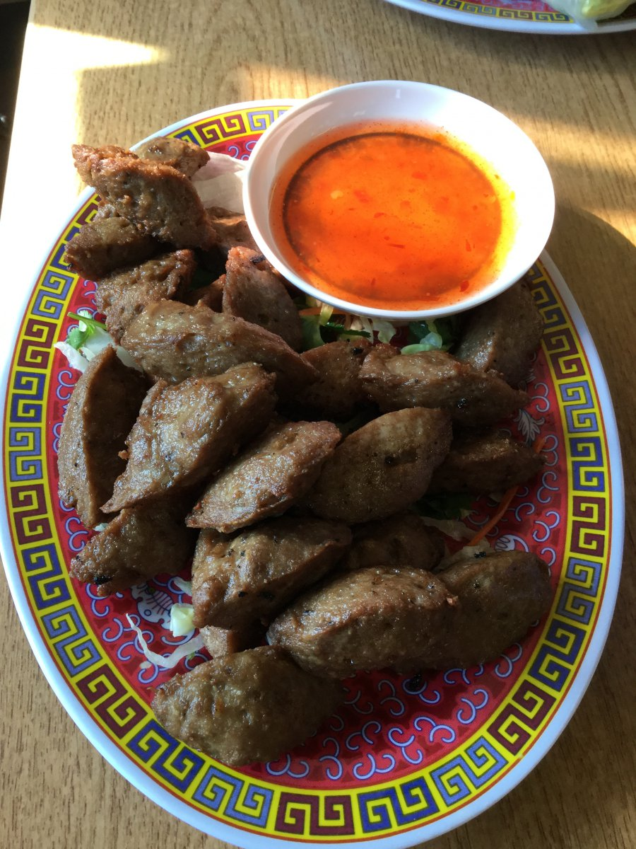 Vientiane meatballs