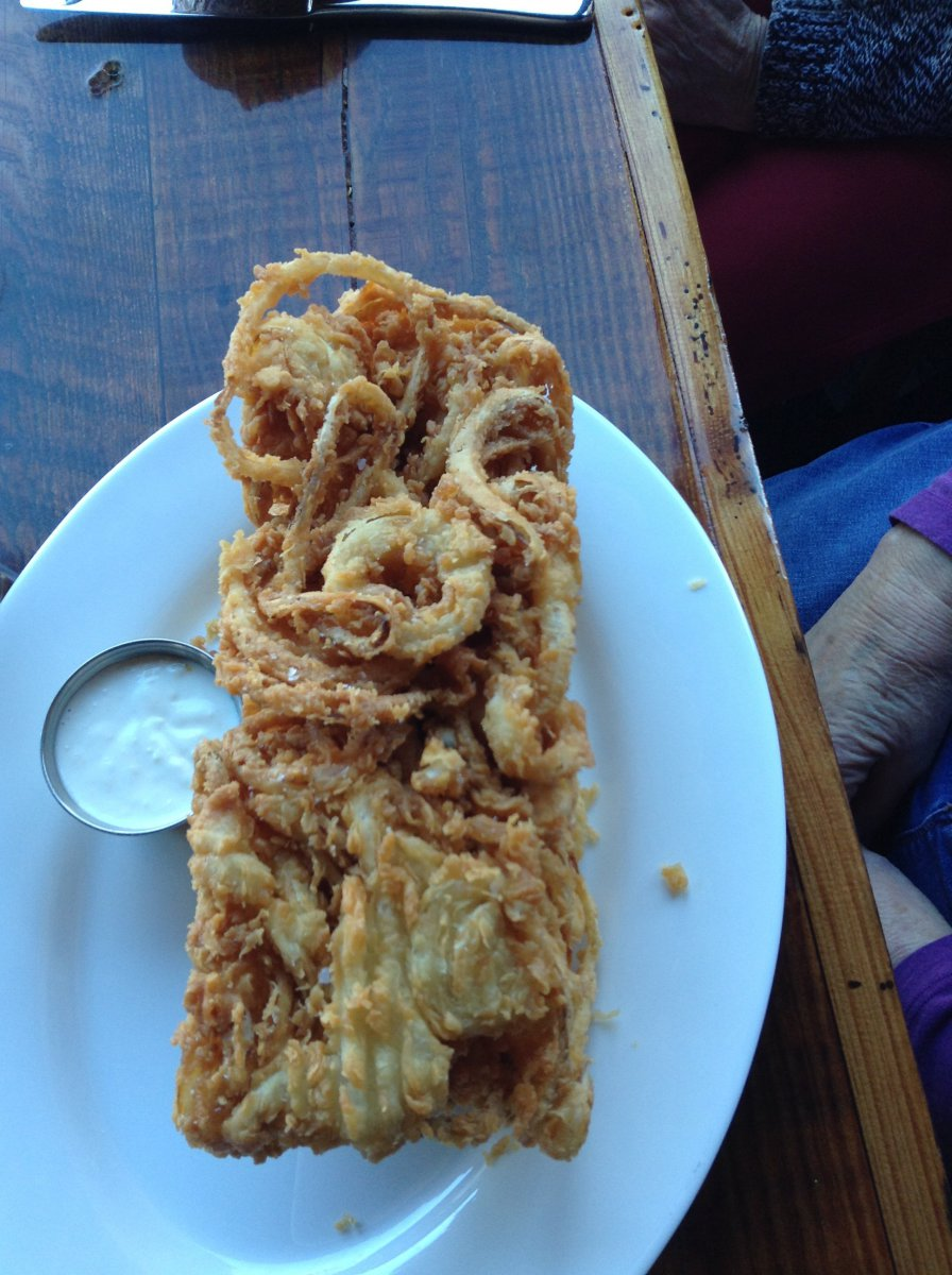 Pizza Man:  Onion Ring Loaf