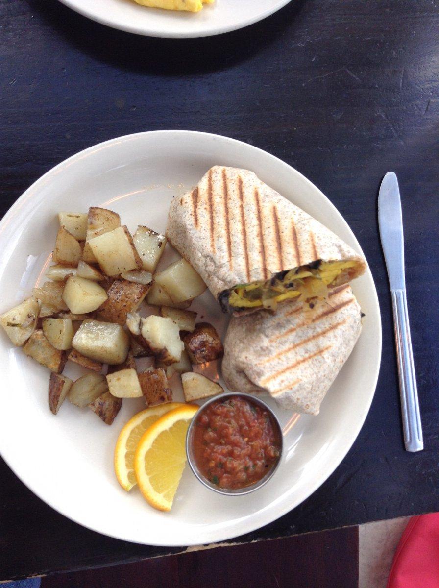 The National: Breakfast Burrito