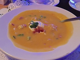 Victor's: Bacon Cheese Soup