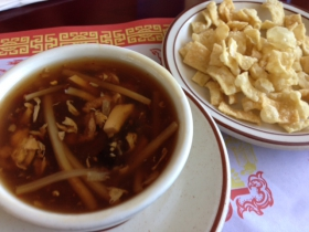 Fortune's Hot Sour Soup.