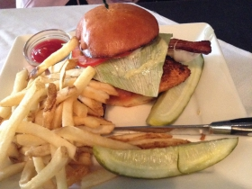 On The Menu at Buckley's: Salmon Sammie