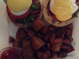 On The Menu at Buckley's: Eggs hollandaise