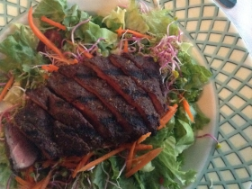 Five-Spice Steak Salad