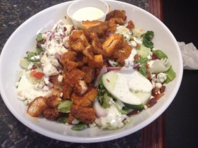 On the Menu: Crispy Buffalo Chicken Salad