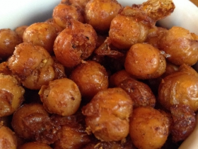 On The Menu at Goodkind: Deep-fried chickpeas