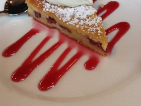 On The Menu at Goodkind: Gateau Basque