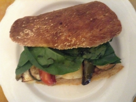 Amaranth Bakery and Café: Veggie Sandwich