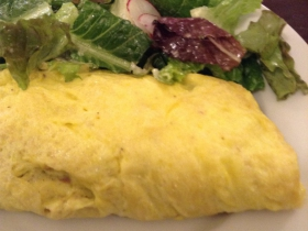 Le Reve: Cheese Omelette