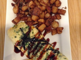 Smoked Eel Tamagoyaki Omelette